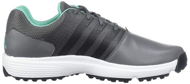 Zapatos de golf adidas 360 Traxion grises 03