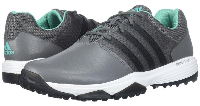 Zapatos de golf adidas 360 Traxion grises 05