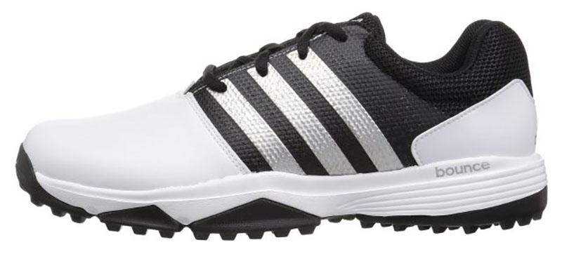 Zapatos de golf Adidas Traxion 360 Blanco negro 00