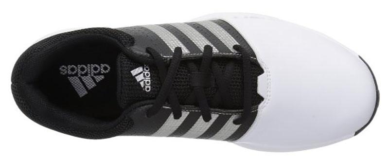 Zapatos de golf Adidas Traxion 360 Blanco negro 01