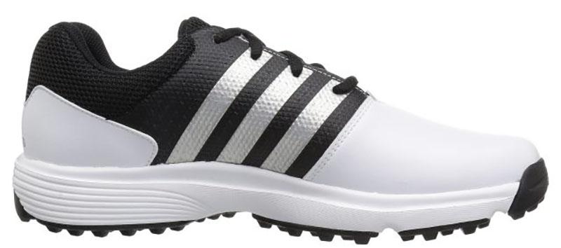 Zapatos de golf Adidas Traxion 360 Blanco negro 06