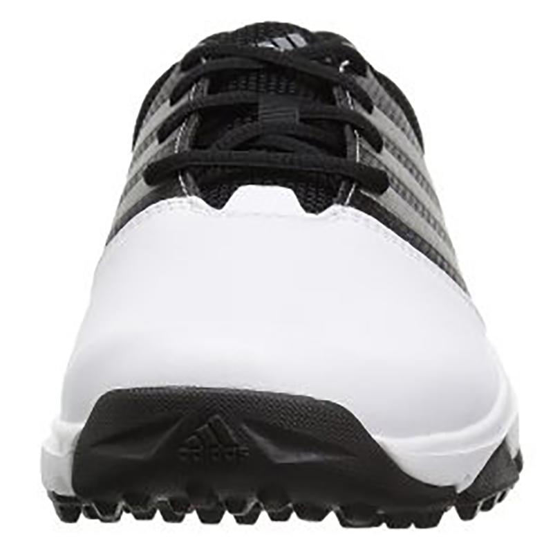 Zapatos de golf Adidas Traxion 360 Blanco negro 07