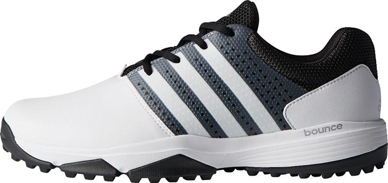 Zapatos de golf adidas traxion blancos 01