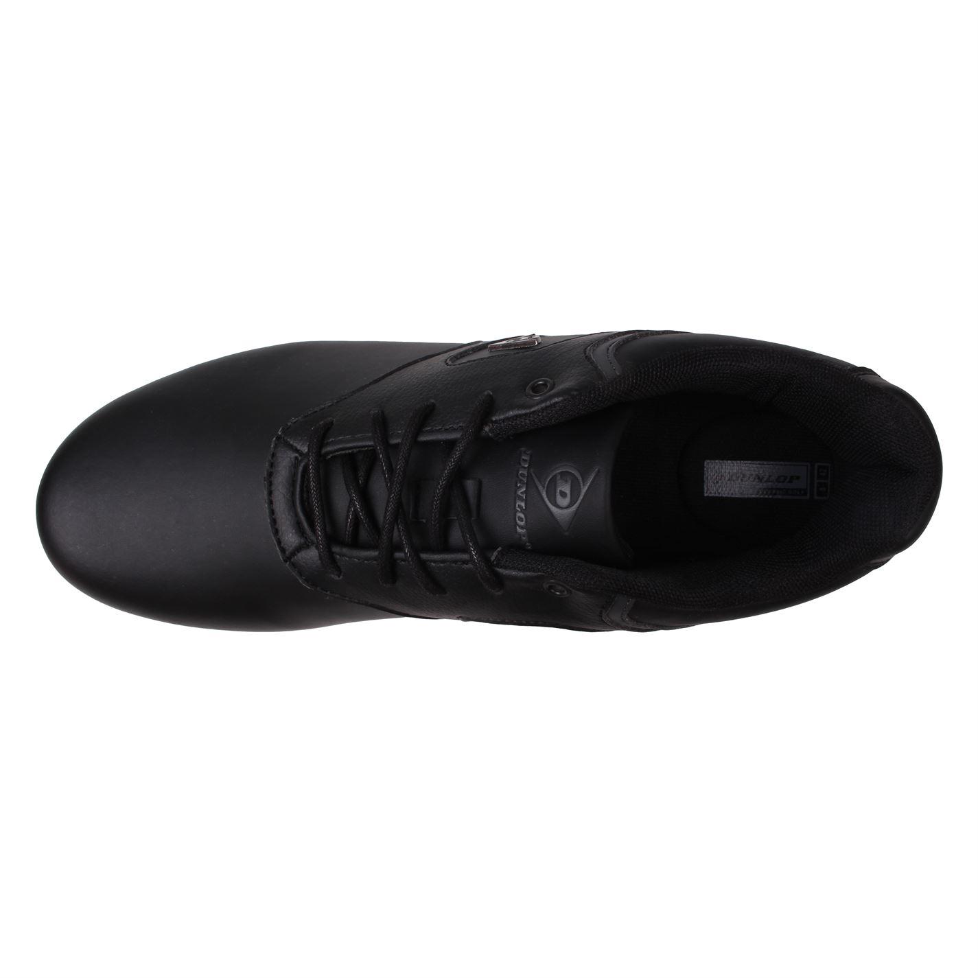 Zapatos de golf Dunlop Negros Clásicos 05