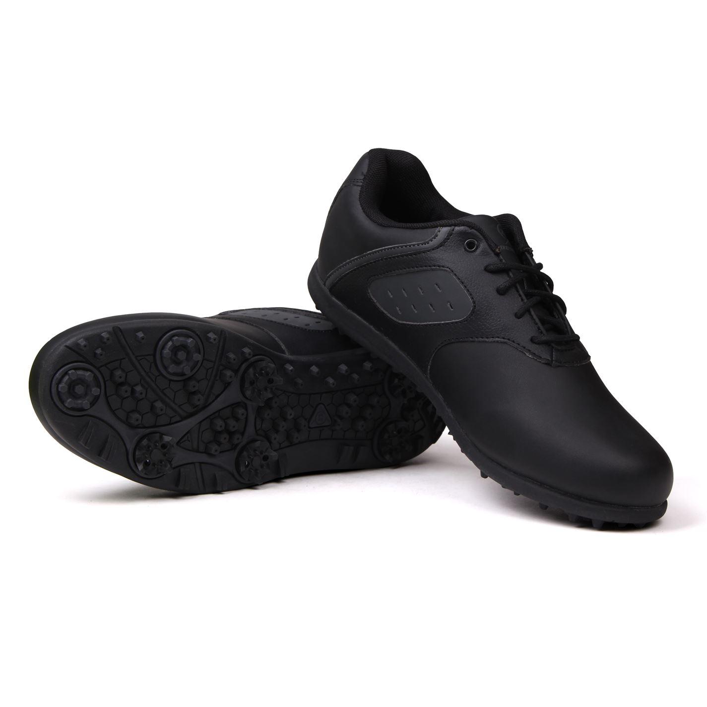 Zapatos de golf Dunlop Negros Clásicos 01