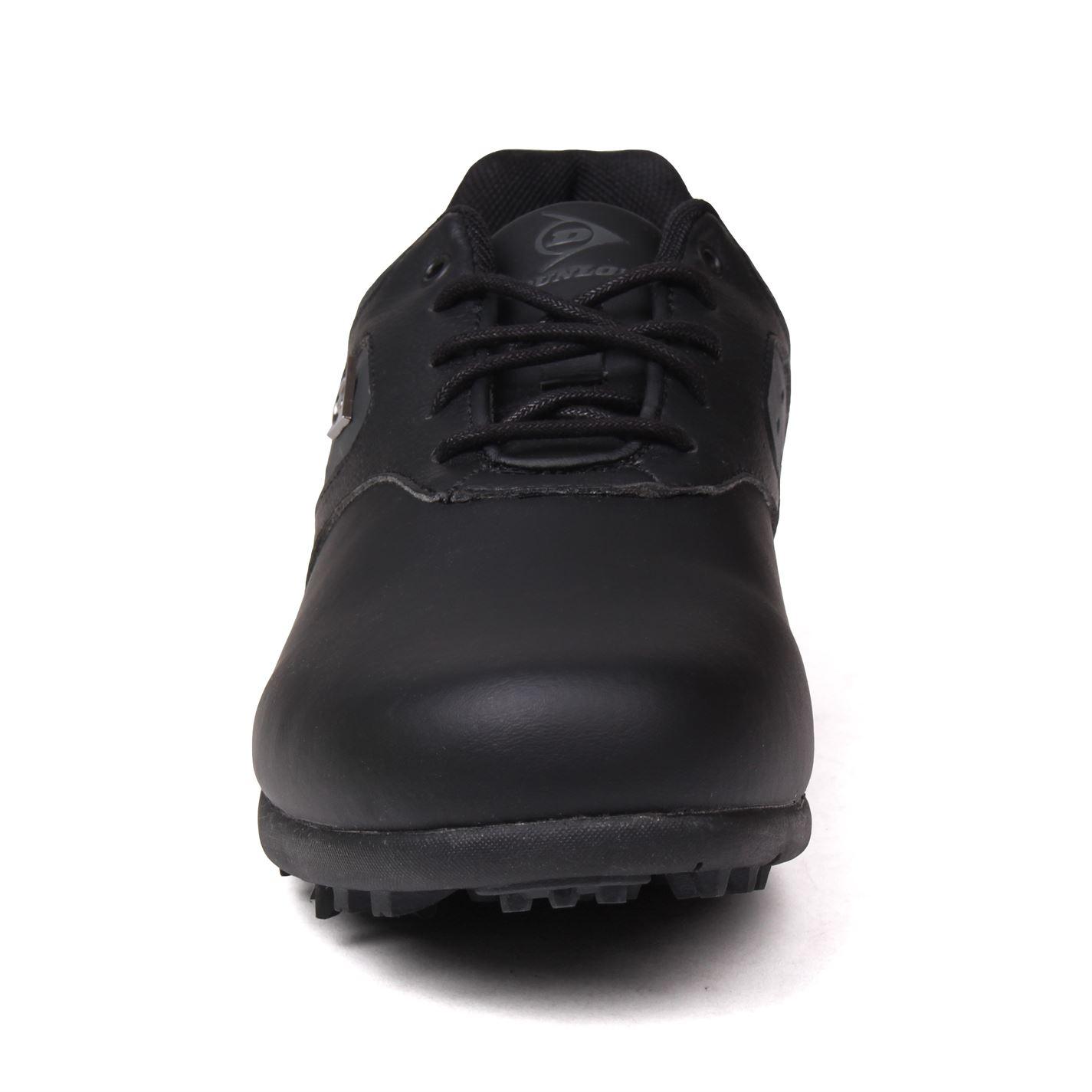Zapatos de golf Dunlop Negros Clásicos 06
