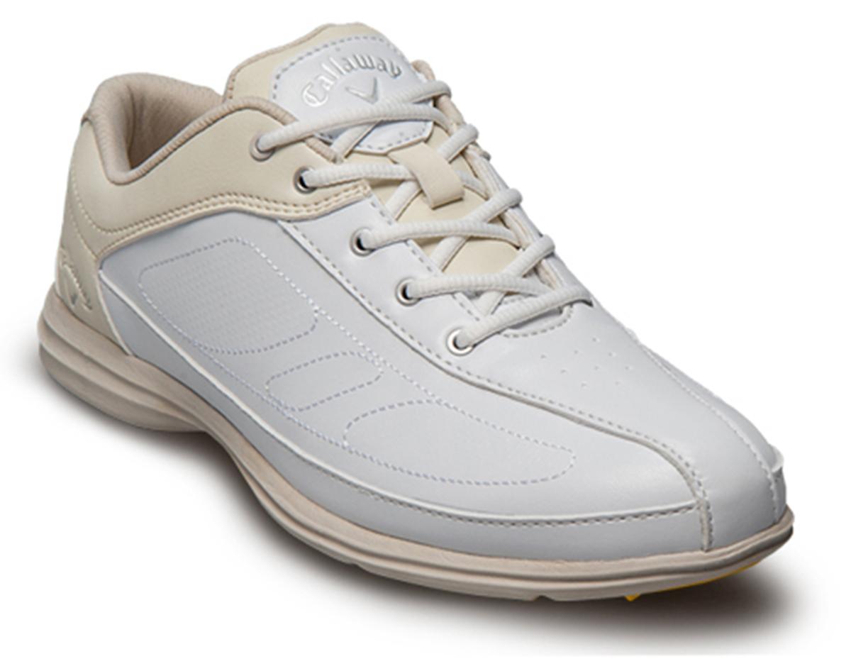 Zapatos de golf callaway dama blanco y hueso cirrus 01