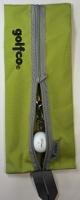 Estuche golfco bolsa organizador verde 01