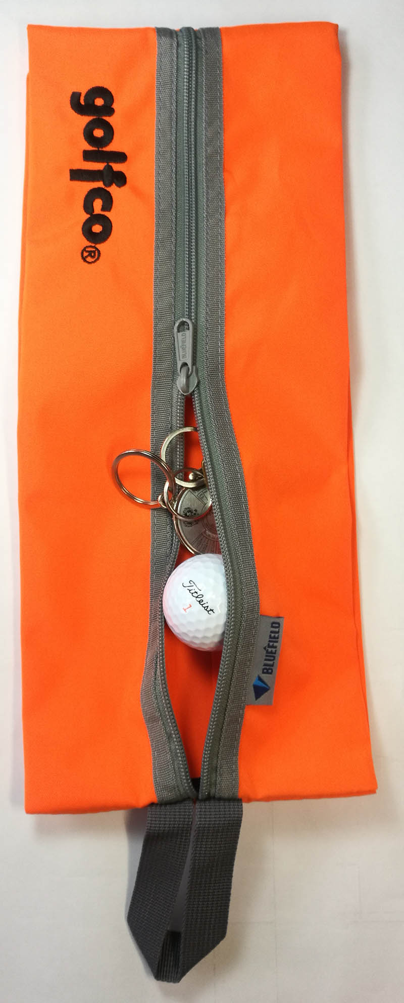 Esstuche golfco organizador de bolas de golf y otros Naranja 01